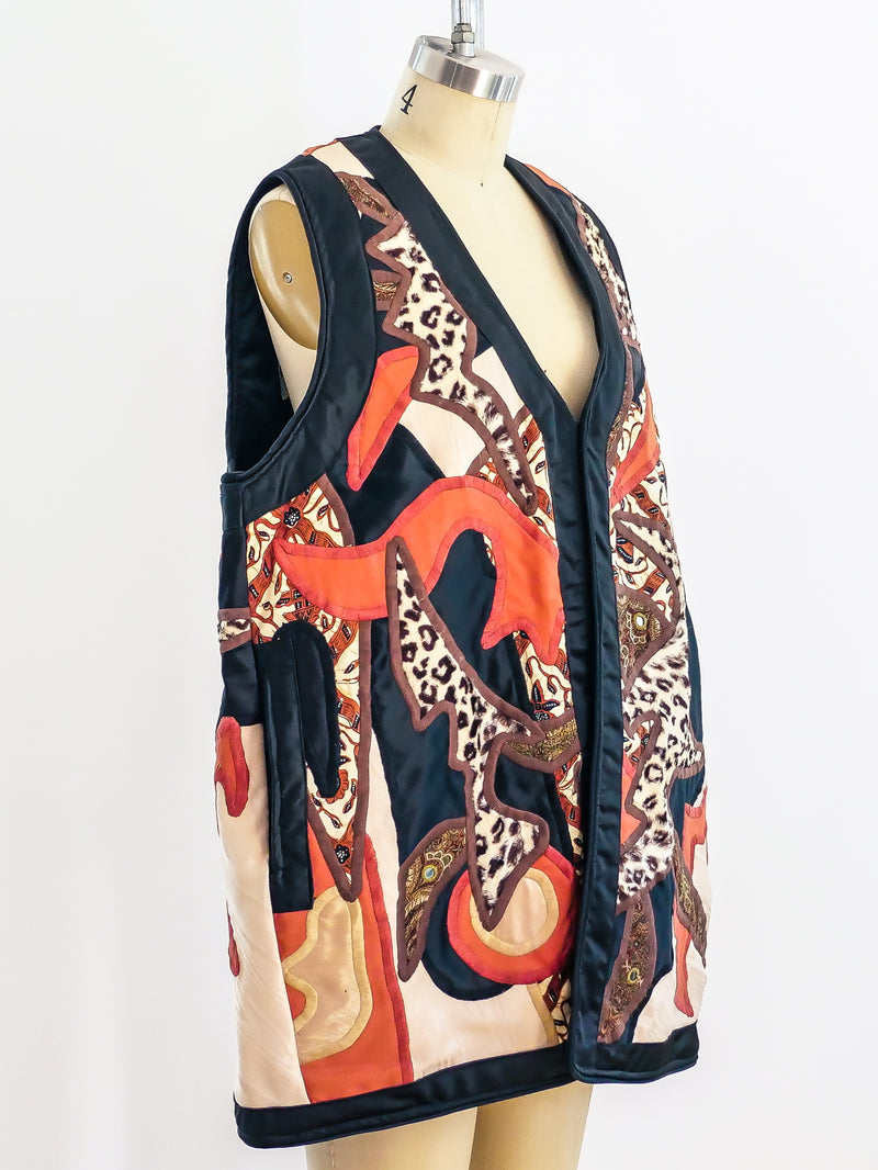 Judith Roberts Art-to-Wear Quilted Vest