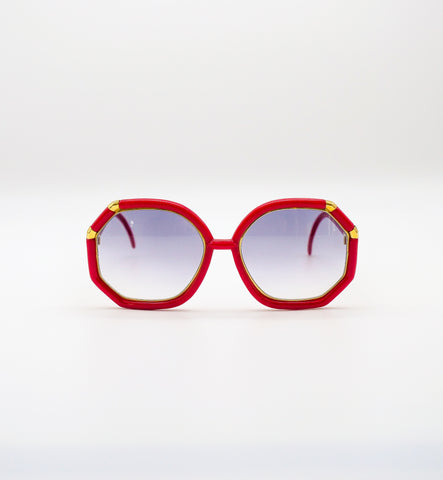 1980's Red Sunglasses