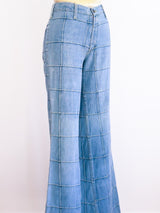 Patchwork Denim Bell Bottoms