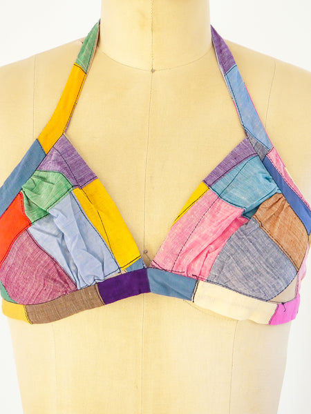 Madras Cotton Halter