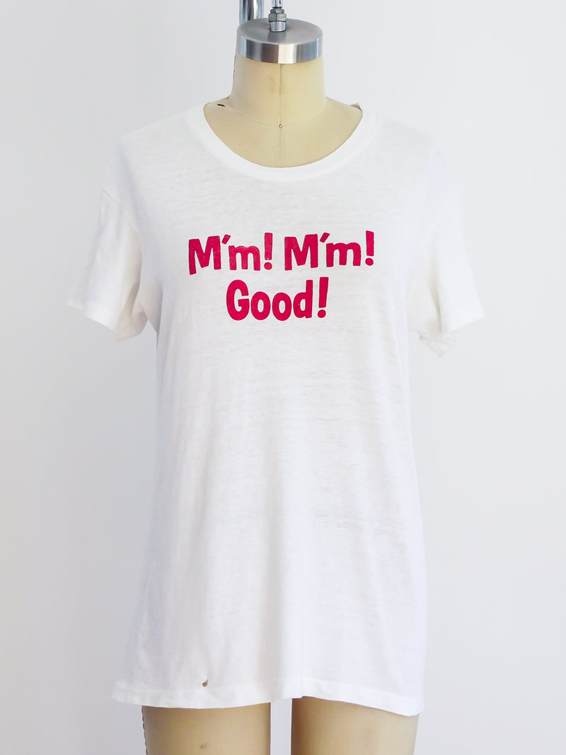 1960's M'm M'm Good Graphic Tee