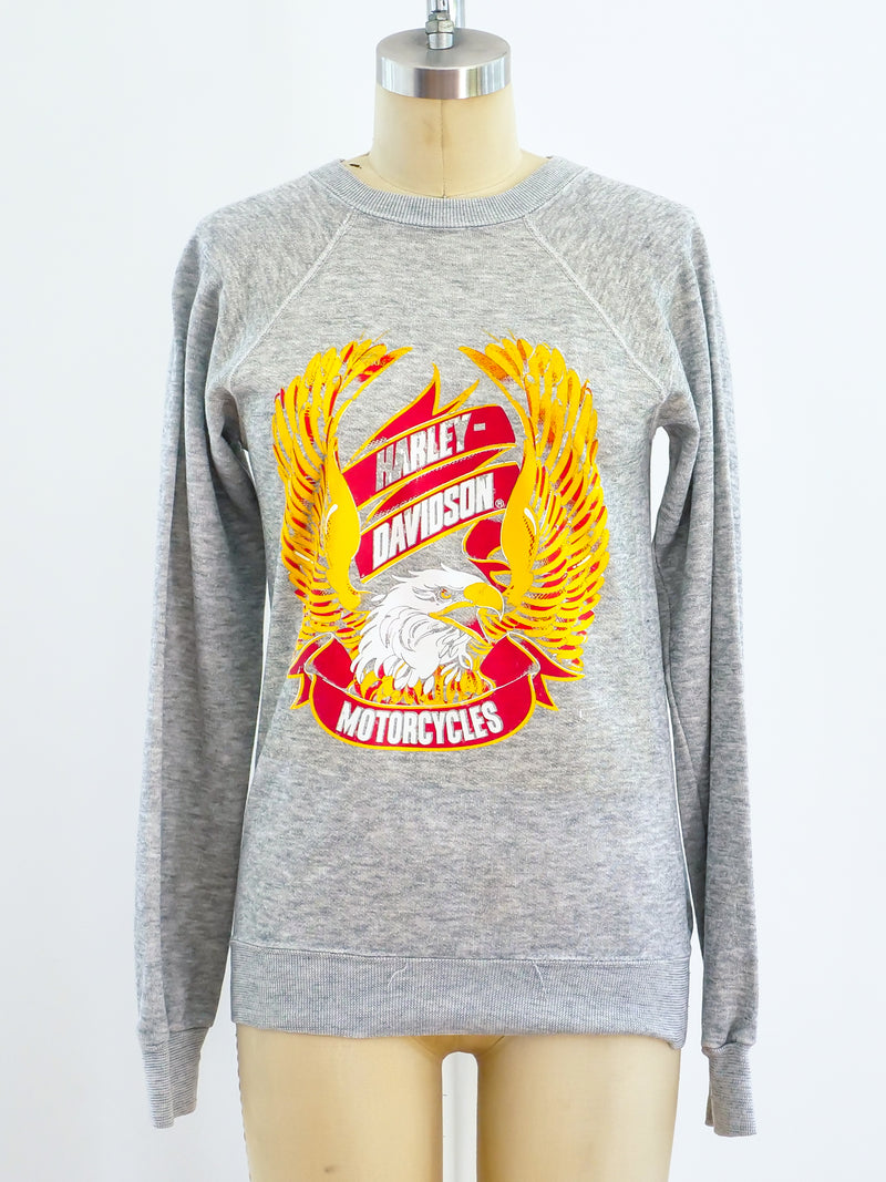 Harley Davidson Heather Grey Sweatshirt