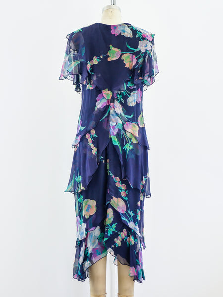 Holly's Harp Tiered Floral Dress