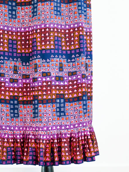 Givenchy Graphic Print Maxi Skirt