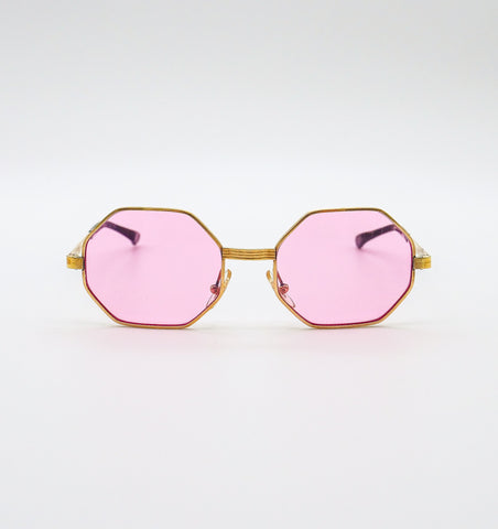 1960's Octagonal Rose Sunglasses