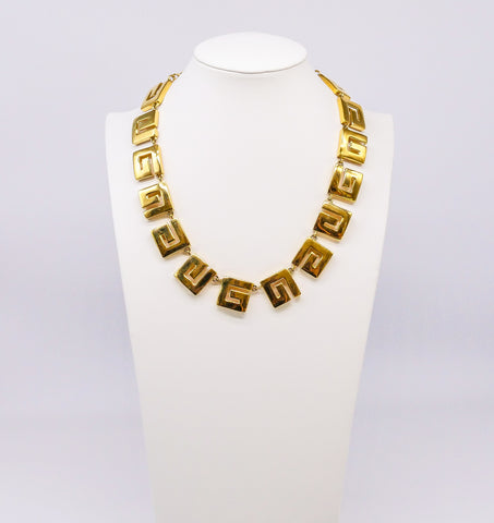 Givenchy Logo Link Necklace