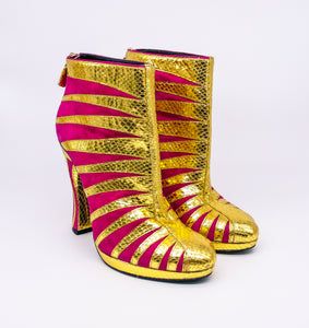Rodarte Sunrise Heeled Boots, 40