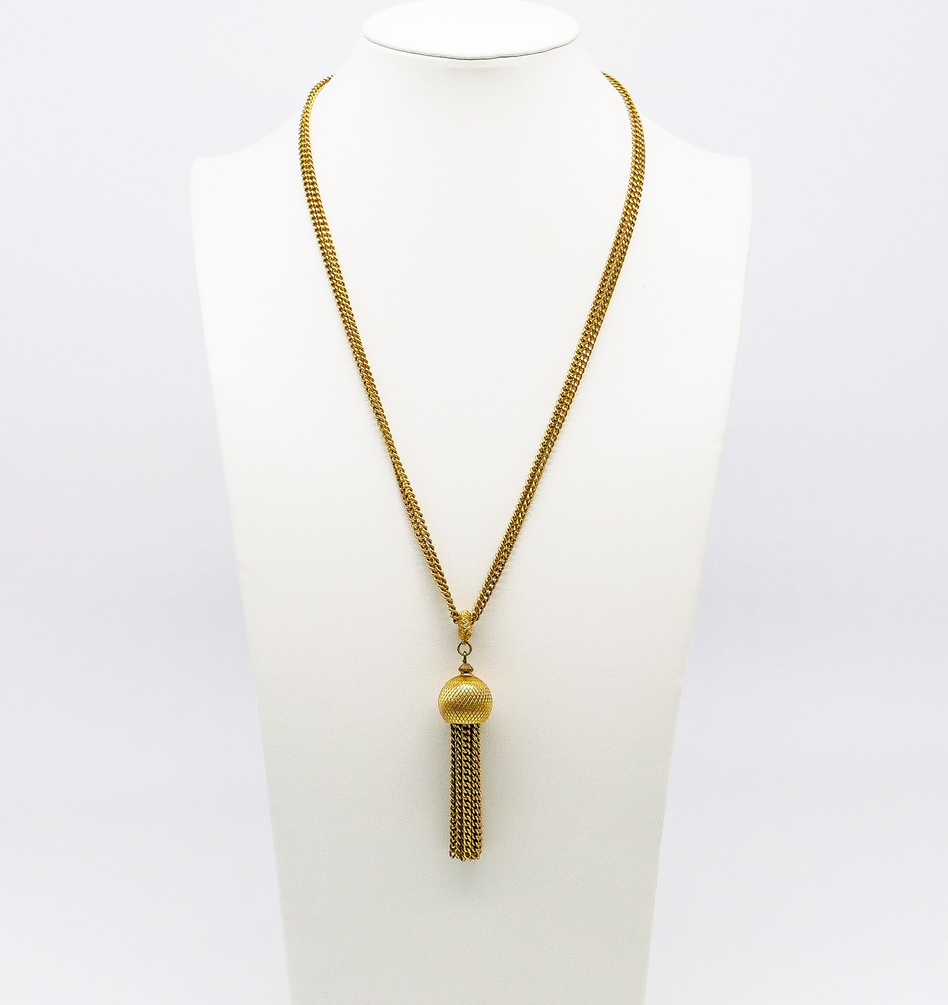 Chain Tassel Pendant Necklace
