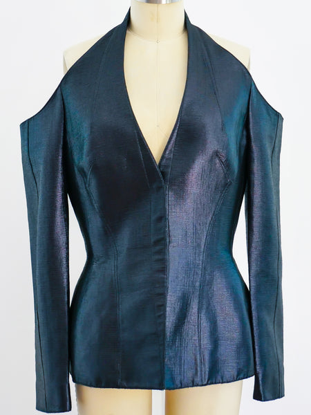 Thierry Mugler Open Shoulder Jacket