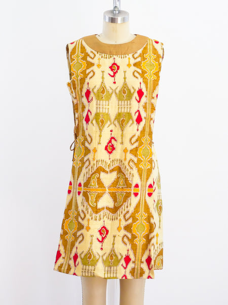 Pierre Cardin Ikat Tunic Top