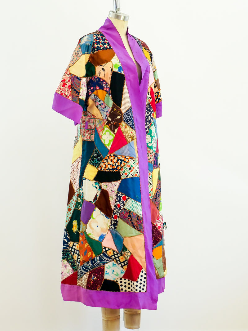Patchwork Quilted Duster