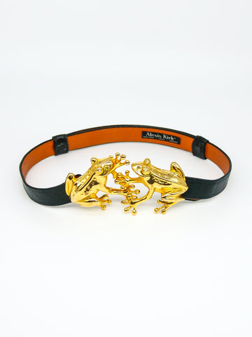 Alexis Kirk Belt with Frog Clasp