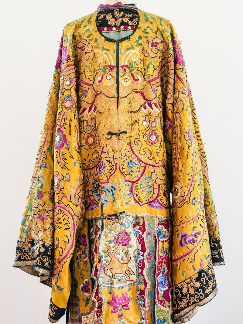 19th Century Chinese Opera Coat