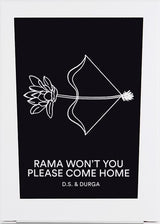 Rama Won't You Please Come Home Candle by D.S. & DURGA