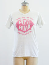 1950's Post Road Motorcyle Tee