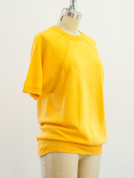 Sunflower Blank Short Sleeve Sweatshirt