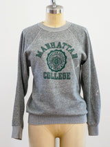 Manhattan College Seal Graphic Sweatshirt