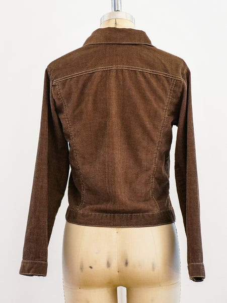 1970's Brown Corduroy Jacket