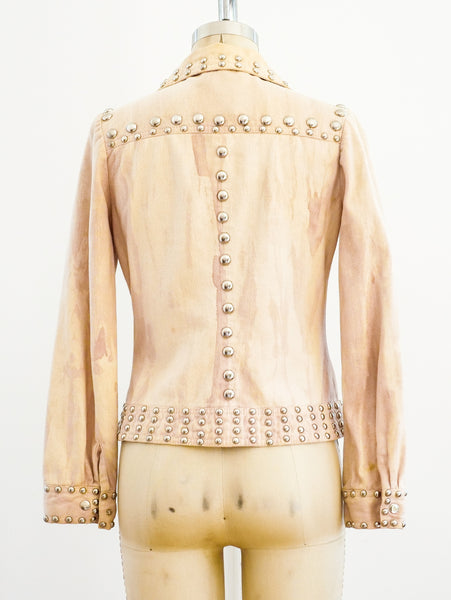 Roncelli Studded Peach Jacket