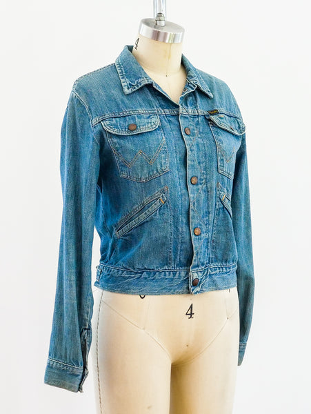 ZZ Top Wrangler denim Jacket