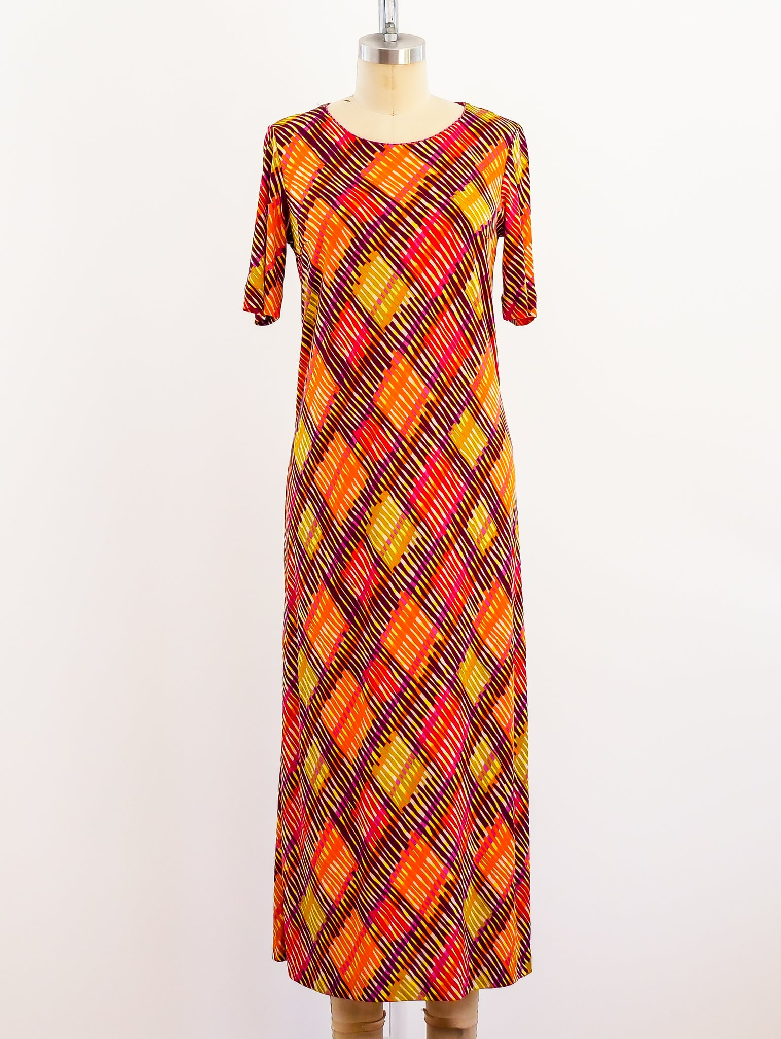 Missoni Printed Silk Jersey Dress