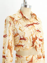 Safari Print Jersey Ensemble