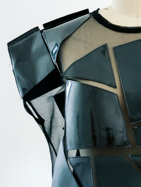 Junya Watanabe Pieced Geometric Top