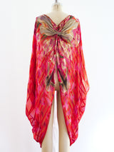 Metallic Thread Butterfly Shrug