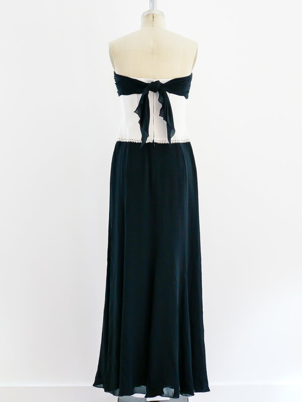 Chanel Corseted Gown