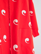 Marimekko Comma Print Smock Dress