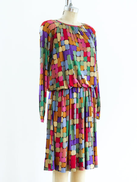 Missoni Silk Jersey Printed Ensemble