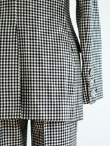 Moschino Gingham Pant Suit
