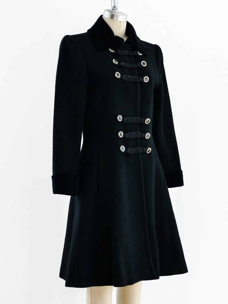 Yves Saint Laurent Russian Collection Wool Coat