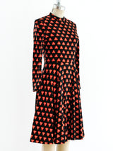 Geoffrey Beene Printed Jersey Dress