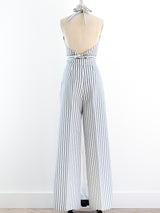 Striped Halter Ensemble