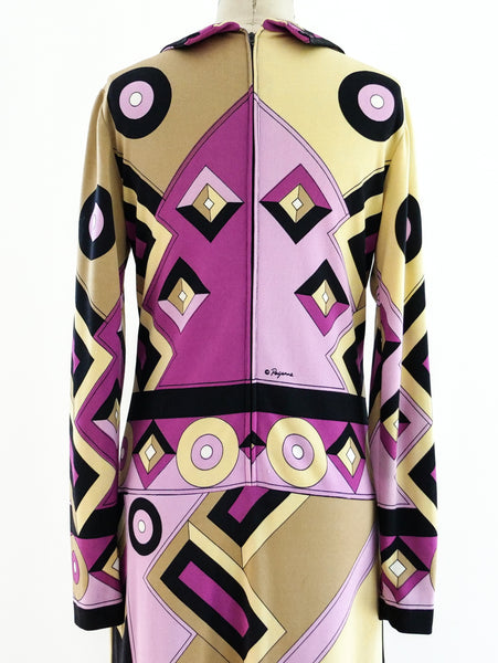 Paganne Printed Knit Dress