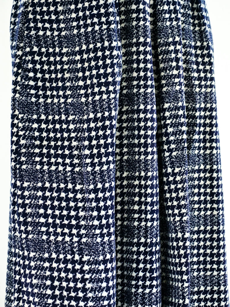 Houndstooth Corduroy Culotte
