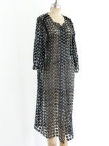 Pearl Beaded Lace Duster