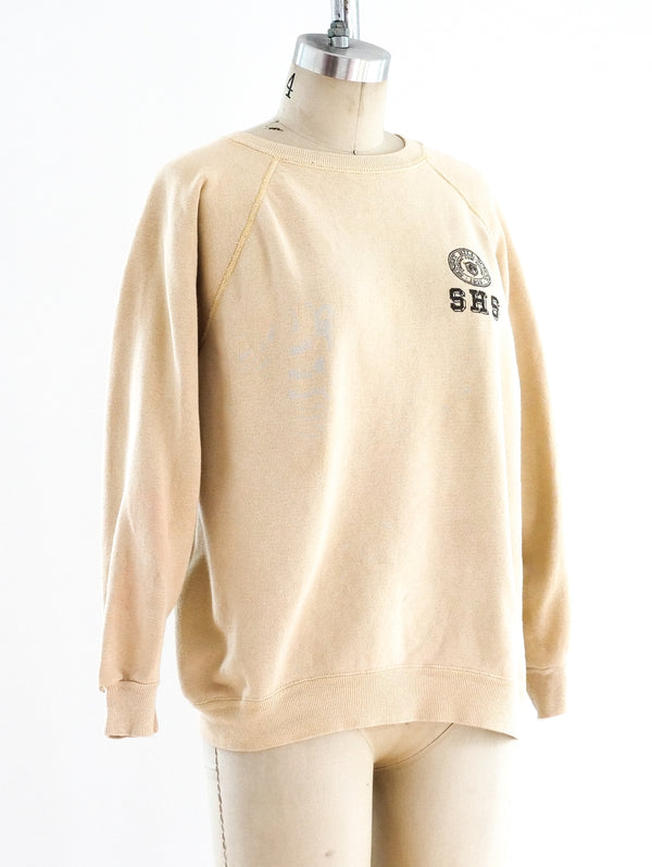 School Seal Yellow Sweatshirt