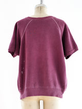 Berry Short Sleeve Sweatshirt
