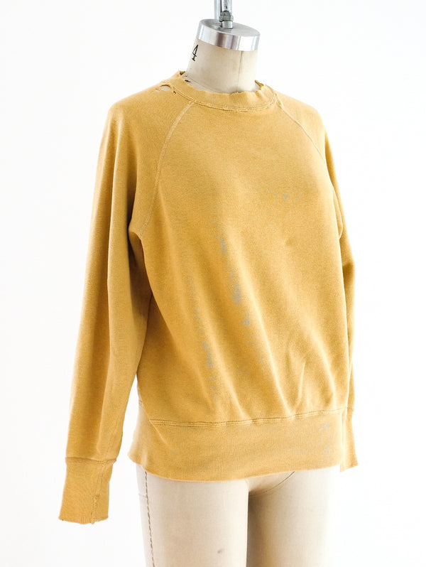1950's University Logo Sweatshirt