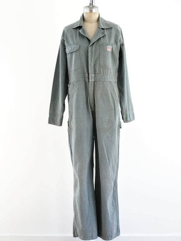 Sage Green Coveralls