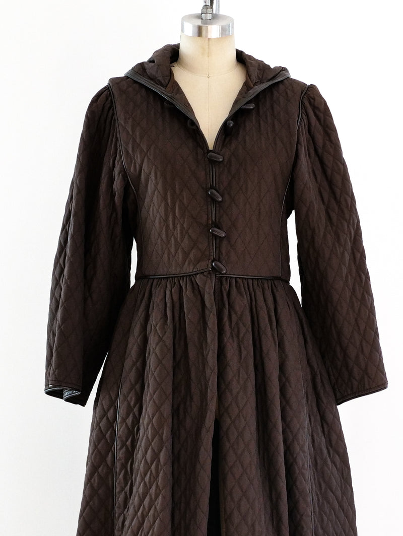 Yves Saint Laurent Quilted Coat