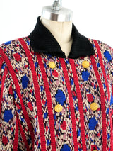 Yves Saint Laurent Ikat Knit Jacket