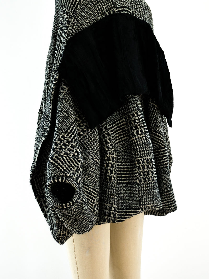 Junya Watanabe Houndstooth Bubble Dress