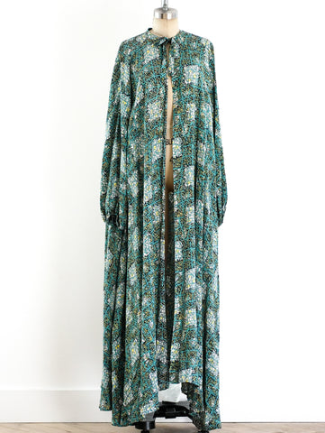 Abstract Printed Duster