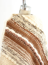 Fringed Hand Woven Poncho