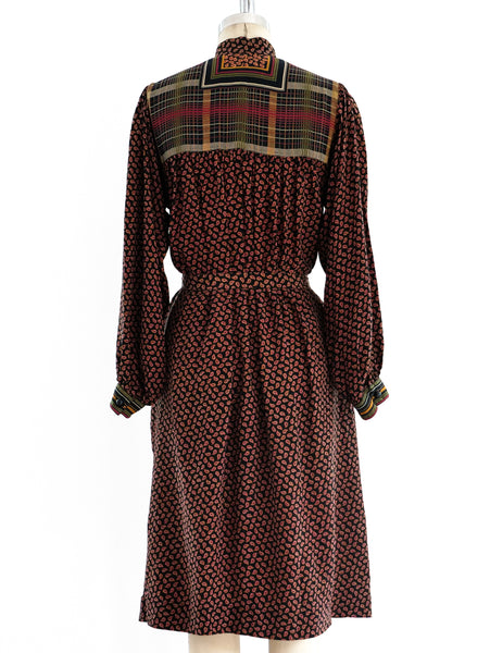 Ted Lapidus Silk Smock Dress