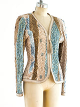 Jeanne Marc Quilted Stretch Jacket