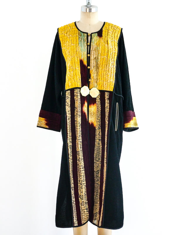 Art To Wear Pieced Caftan Duster